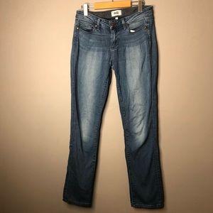 Paige Jeans skyline straight blue size 29